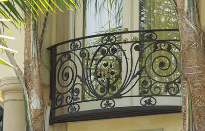 Met Parking Services >> JRC Wrought Iron - Photo of Gazebos, Spiral Staircases, Wrought Iron Posts & Other Customized ...