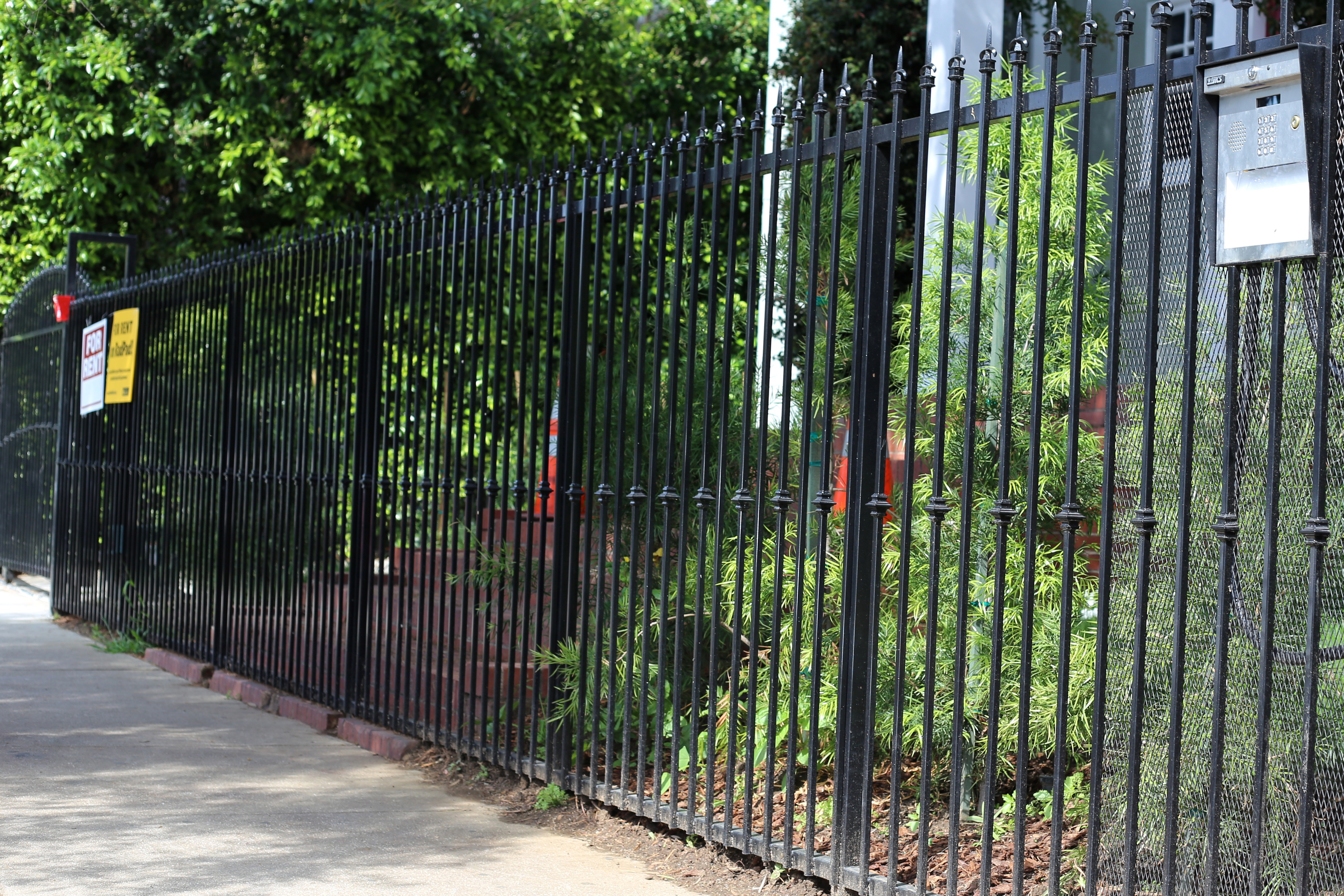 jrc wrought iron photos of custom iron doors fences. Black Bedroom Furniture Sets. Home Design Ideas