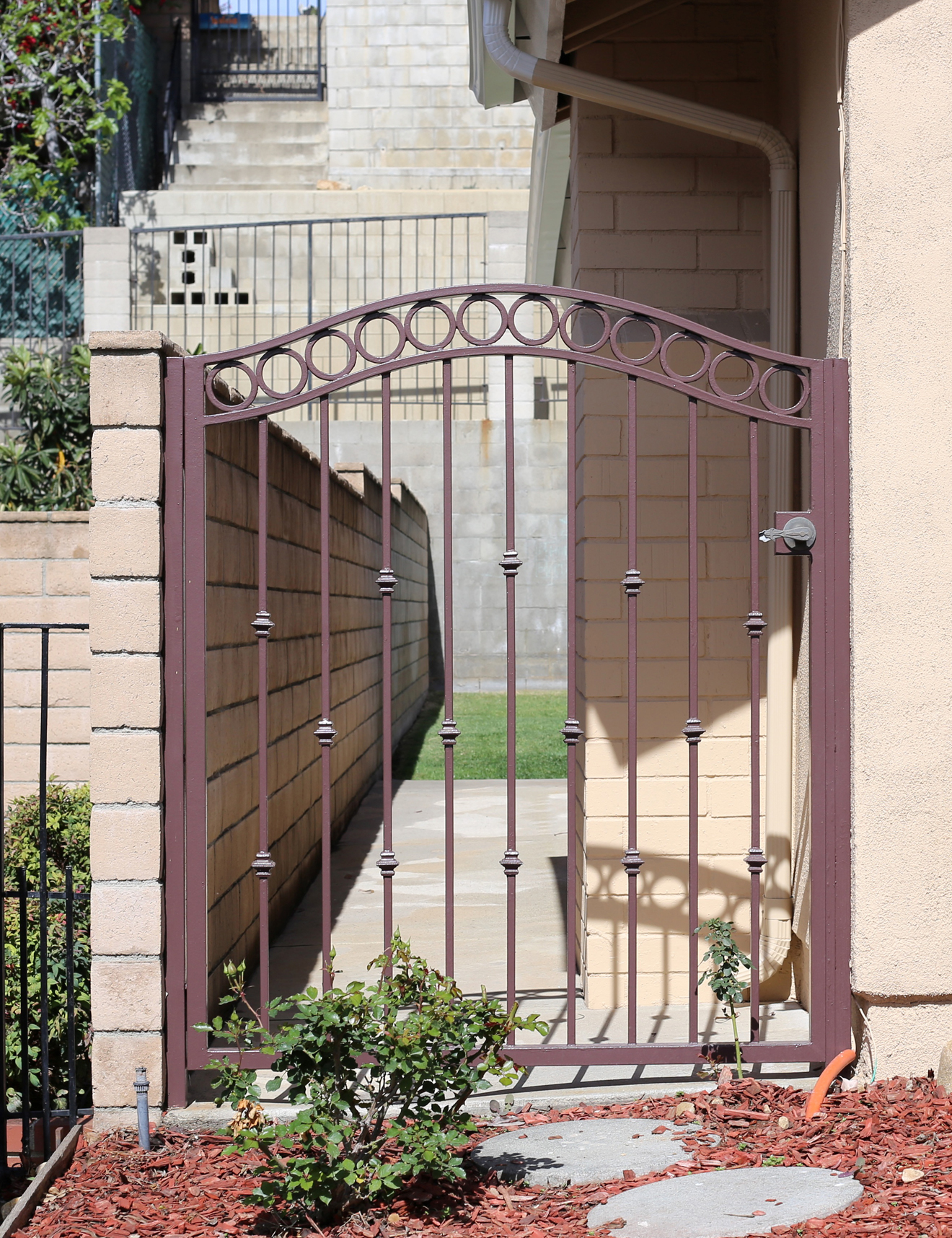 Jrc wrought iron photos of custom gates with